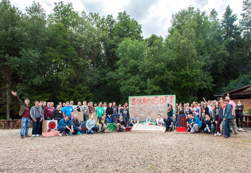 SolbegSoft Throws a Huge Teambuilding Summer Event